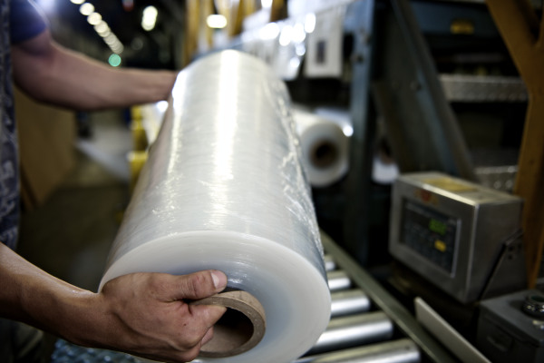 stretch film packaging wrapping