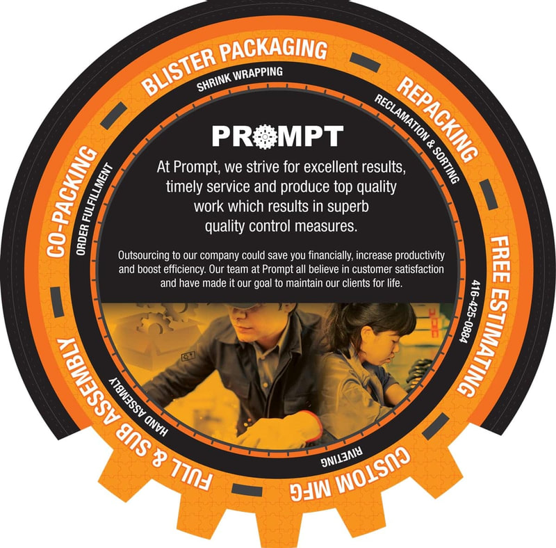 Prompt.ca - Packaging Company Toronto.
